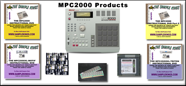 mpc2000 products