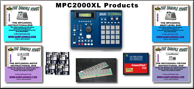 mpc2000XL Products