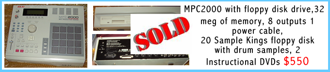 mpc2000 for sale