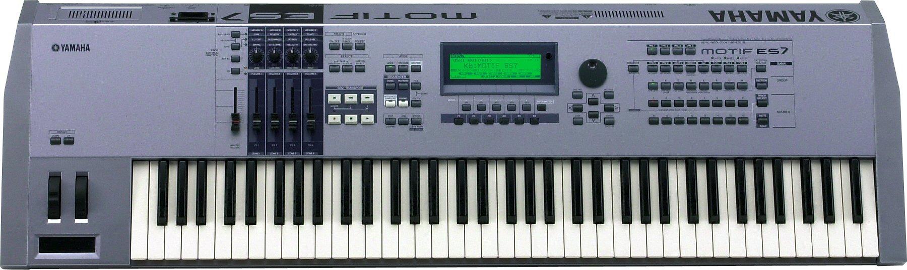 Yamaha motif es7 music production synthesizer yamaha encyclotronic.